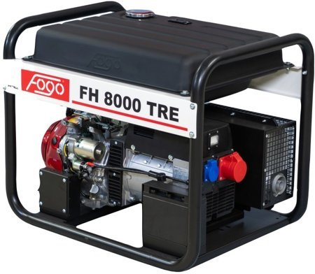 Agregat prądotwórczy FOGO FH 8000 TRE + Olej + Darmowa DOSTAWA