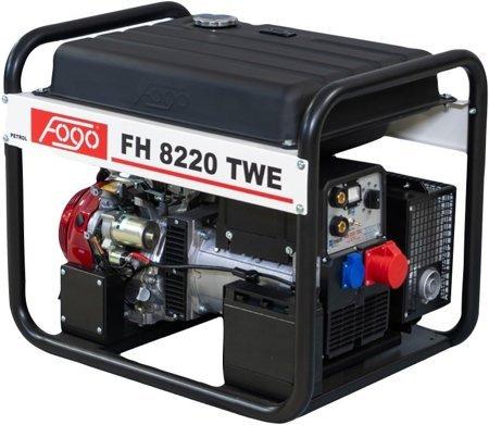 Agregat prądotwórczy FOGO FH 8220 TWE z funkcją spawania + Olej + Darmowa DOSTAWA