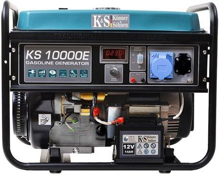 Agregat prądotwórczy KONNER & SOHNEN KS 10000E + Olej + Darmowa DOSTAWA