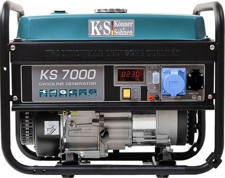 Agregat prądotwórczy KONNER & SOHNEN KS 7000 + Olej + Darmowa DOSTAWA