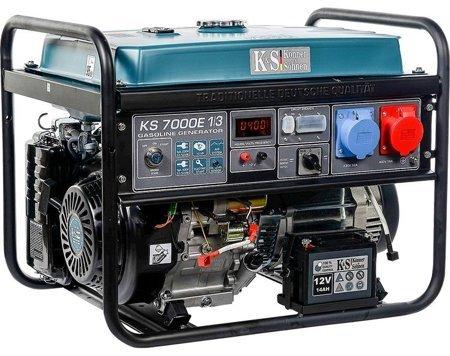 Agregat prądotwórczy KONNER & SOHNEN KS 7000E 1/3 + Olej + Darmowa DOSTAWA